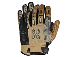HK Army Paintball Full Finger Pro Gloves - Tan