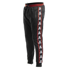 HK Army Track Jogger Pants- OG Skull- Red