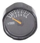 Ninja Paintball Tank 6000 PSI Gauge - Black