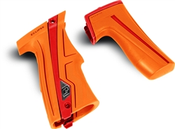 Planet Eclipse CS1 Grip Kit - Orange / Red