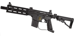 Tippmann US Army Project Salvo Tactical Edition Paintball Marker - Black
