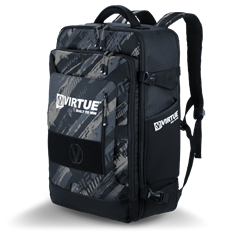 Virtue Gambler Backpack & Gear Bag- Graphic Black