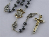 Warrior Rosary 8MM Hematite