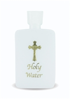 4 OZ Plastic Holy Water Bottle