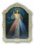 "Divine Mercy Bronze 9"" plaque"