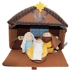 Plush 4 Piece Nativity Set