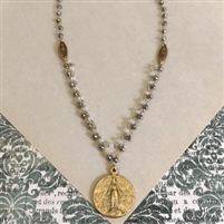 Brenda Miraculous Medal Necklace