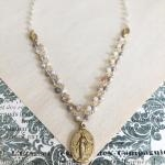 Abigail Miraculous Medal Necklace