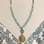 Angela Miraculous Medal Necklace