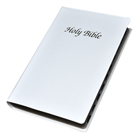 First Communion Indexed Bible - White NABRE