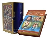 Illustrated Lives of the Saints 2 Volume Boxed Set