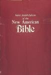 St Joseph Edition of the New American Bible Red Imitation Leather