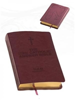 Fireside New Catholic Answer Bible Burgundy Leather