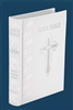 Fireside Catholic Wedding Bible NABRE White Leather