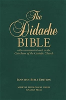 The Didache Hardcover Bible with Commentaries Based on the Catechism of the Catholic Church
