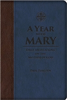 A Year with Mary: Daily Meditations on the Mother of God Leather Bound