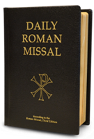 Daily Roman Missal Black Bonded Leather