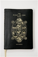 Word on Fire Leather Bible