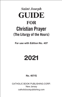 2021 Guide for Large Print Christian Prayer