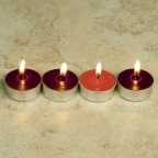 Advent Wax Tea Light Candles