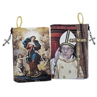 Our Lady Untier of Knots/Pope Francis Rosary Pouch