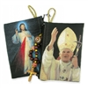 Divine Mercy/St. John Paul II Rosary Pouch