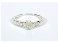 Sterling Silver Miraculous Ring