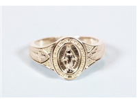 Gold 14KT Miraculous Rings