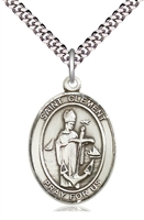 "St Clement Medal on 24"" Chain"