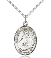 "St Rose Philippine Duchesne Sterling Silver on 18"" Chain"