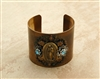 Our Lady of Guadalupe Vintage Style Cuffs