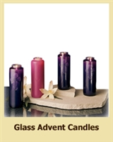 7 Day Bottle Next Advent Candles