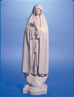 "Our Lady of Fatima statue, 24"" in height"