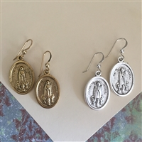 Our Lady of Fatima Earrings