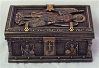 St. Michael Keepsake Box