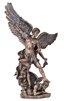 St Michael the Archangel- Bronze 14.5 Inches