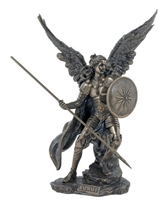 "St. Raphael the Archangel 13.5"" Bronze"