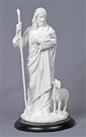 Good Shepherd with Lambs 12""
