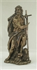 "St. John the Baptist 9.5"" Bronze Lightly Painted"