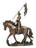 "Saint Joan of Arc 11"" Bronze Statue"