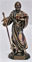 "St. Matthew 8"" Bronze Lightly Painted"