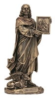 "St. Luke 8"" Bronze Lightly Painted"