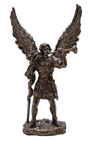 "St. Gabriel the Archangel - 4"" bronze"