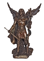 "St. Gabriel the Archangel - 9"" bronze"
