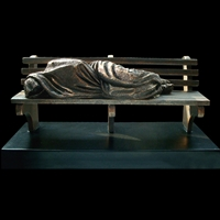 Homeless Jesus by Timothy P. Schmalz