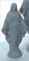 "Immaculate Heart of Mary outdoor 22"" statue"