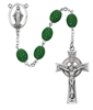 Sterling Silver Celtic Shamrock Rosary