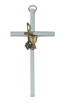 "4"" Silver First Communion Cross"