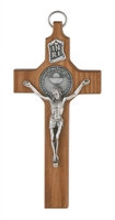 Walnut First Communion Cross