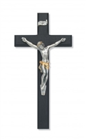 "10"" BLACK CRUCIFIX TUTONE CORPUS"